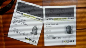 Our Hot Docs passes