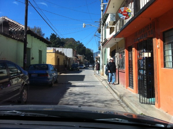 Street in San Cristobal de las Casas